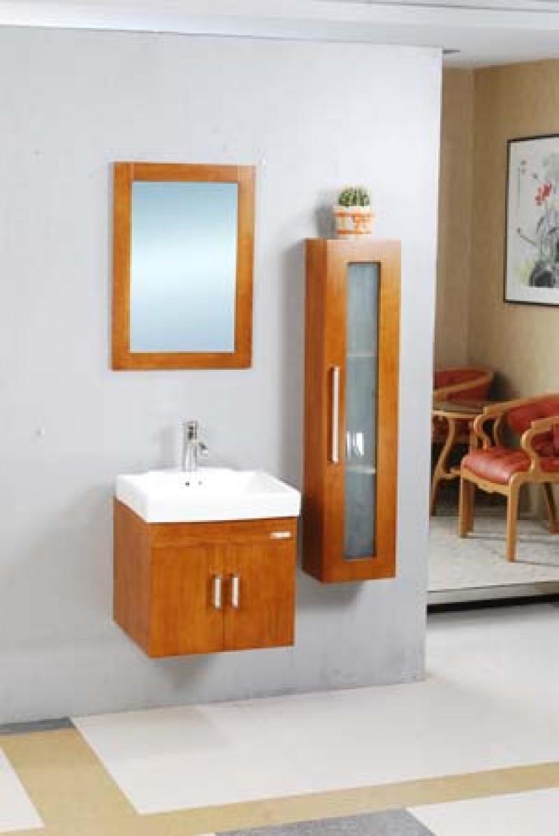 Skrinka s umývadlom a zrkadlom NORD