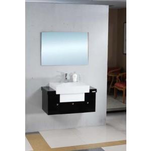 IMAGE - Skrinka s umývadlom a zrkadlom - Moderný dizajn