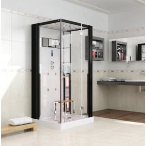 Infrakabína + parná a sprchová kabína v 1