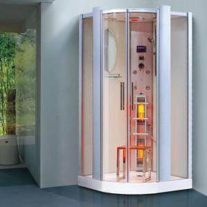 Infrakabína + parná a sprchová kabína v 1 SANTORIN
