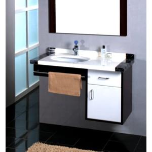 Skrinka s umývadlom a zrkadlom MISTRAL