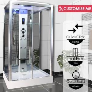 Parná kabína (so saunou) Insignia 105 Premium Model 2020