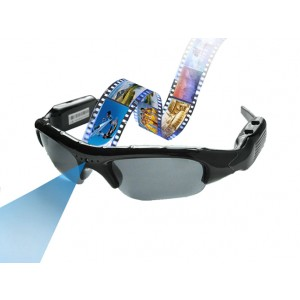 Slnečné okuliare s funkciou videa